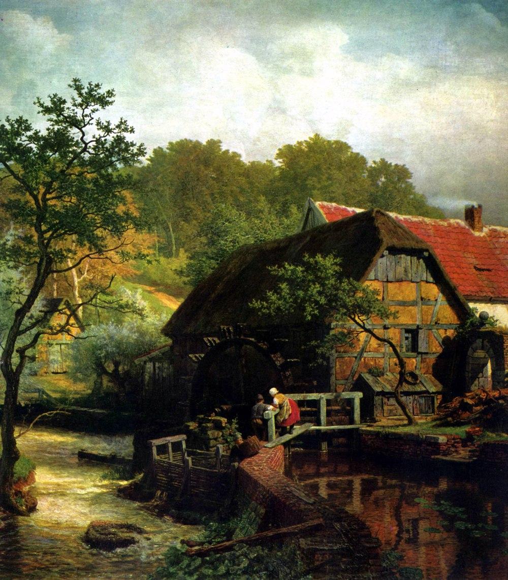 являлась германия в картинах художников тоже